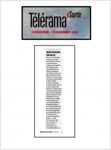 TVRAMA Sortir 05.11.14