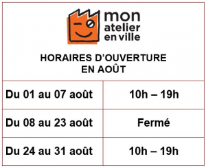 HorairesOuvertureAoût2015