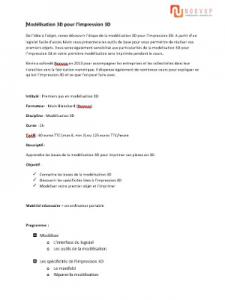 FormatuonModelisationNoovup